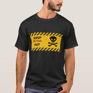 FRACKを保って下さい! アンチfrackingのTシャツ Tシャツ