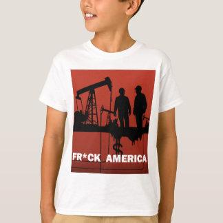 Frackアメリカ Tシャツ