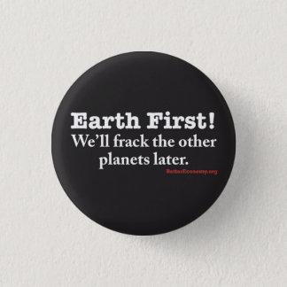 Frack惑星小さいボタン 3.2cm 丸型バッジ