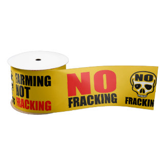 Frackingのリボン無し- 10のyds サテンリボン