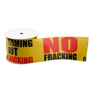 Frackingのリボン無し- 2つのyds サテンリボン
