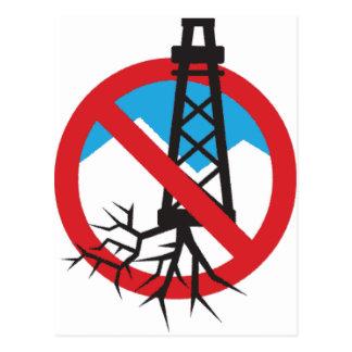 Frackingへのいいえ ポストカード