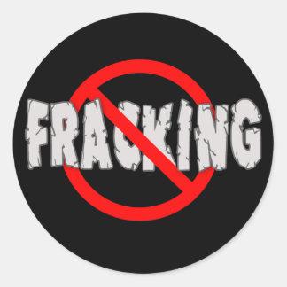 FRACKING無し! 端Fracking ラウンドシール