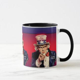 「Fracking罪」のマグです マグカップ