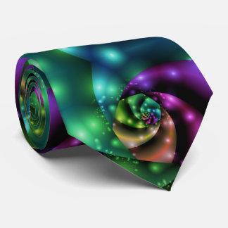 Fractal Cosmic Rose Tile ネックウェアー