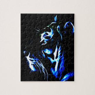 Fractaliusの青いトラ ジグソーパズル