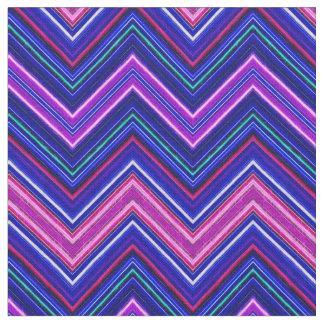 FractaliusシェブロンN-Sの紫色の生地 ファブリック