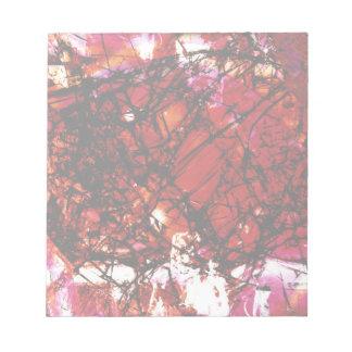 Fragmentalize -赤い白黒 ノートパッド