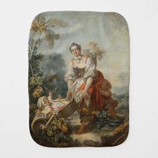 Fragonard著母性愛の喜び バープクロス