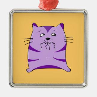 Fraidy猫 メタルオーナメント