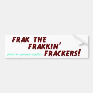 Frak frakkinのfrackers! バンパーステッカー