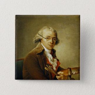 Francoisアンドレヴィンチェンツォのポートレート 5.1cm 正方形バッジ