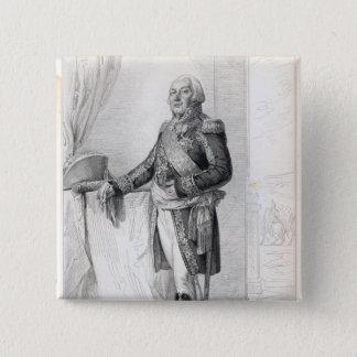 Francoisアンリーde Franquetot de Coigny 5.1cm 正方形バッジ
