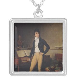 Francois Adrien Boieldieu 1800年 シルバープレートネックレス