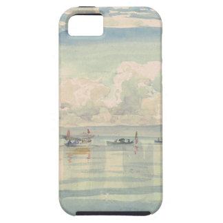 Francois BocionのラックLemanのボート iPhone SE/5/5s ケース
