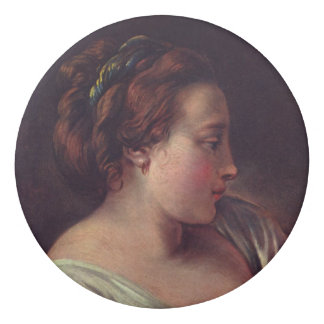 Francois Boucher著若い女の子のJeuneのfille 消しゴム