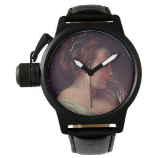 Francois Boucher著若い女の子のJeuneのfille 腕時計