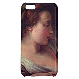 Francois Boucher著若い女の子のJeuneのfille iPhone5Cケース