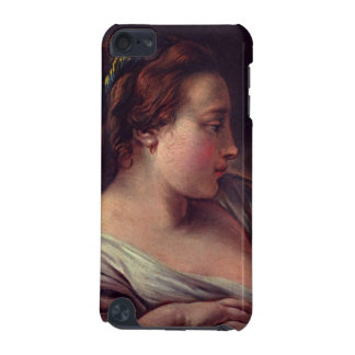 Francois Boucher著若い女の子のJeuneのfille iPod Touch 5G ケース