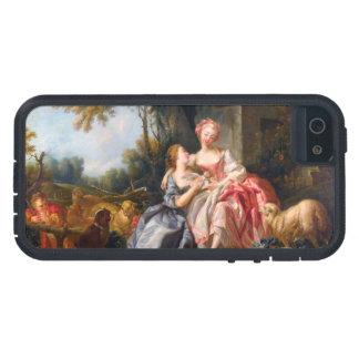 Francois Boucher鋼片のドウのロココ様式の女性芸術 iPhone SE/5/5s ケース