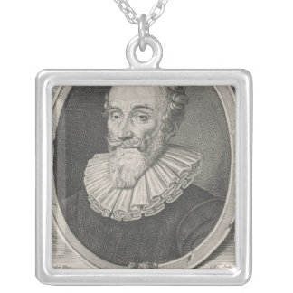 Francois de Malherbe シルバープレートネックレス
