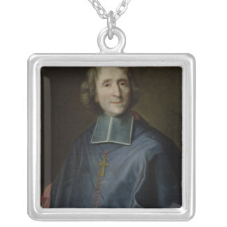 Francois de Salignac deのla Mothe-Fenelon シルバープレートネックレス