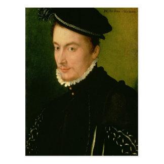 、Francois de Valoisアランソンの1560年代の公爵 ポストカード