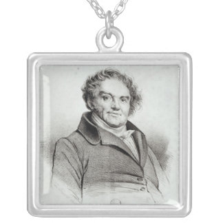 Francois Eugene Vidocq シルバープレートネックレス