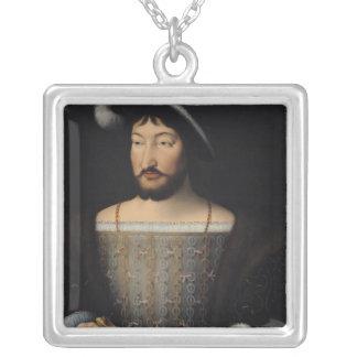 Francois I 2 シルバープレートネックレス