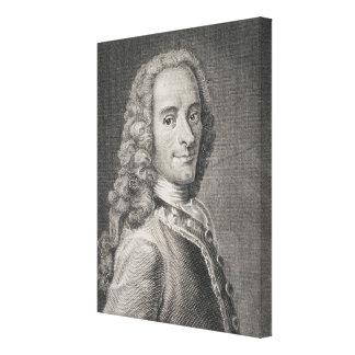 Francois Marie Arouet de Voltaire キャンバスプリント