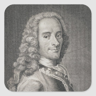 Francois Marie Arouet de Voltaire スクエアシール