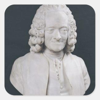 Francois Marie Arouet de Voltaire 1778年のバスト スクエアシール