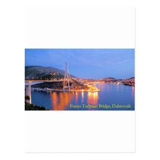 Franjo Tudjman橋1 ポストカード