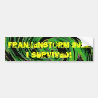 Frankenstorm 2012年 バンパーステッカー