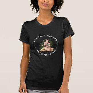 FrankieのTikiのバーのフラ女の子 Tシャツ