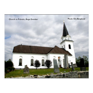 Fränsta、Ångeスウェーデンの教会、… ポストカード