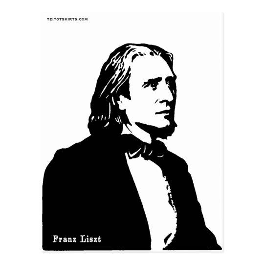 Franz Liszt ポストカード