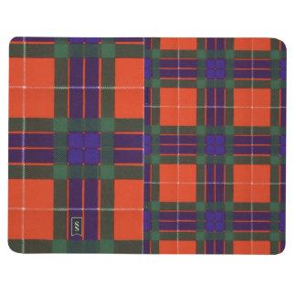 Fraserの一族の格子縞のスコットランド人のタータンチェック ポケットジャーナル