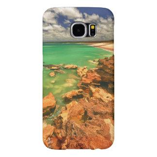Frasersのビーチ タスマニア Samsung Galaxy S6 ケース