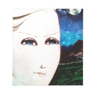 Frauleinの女の子 ノートパッド