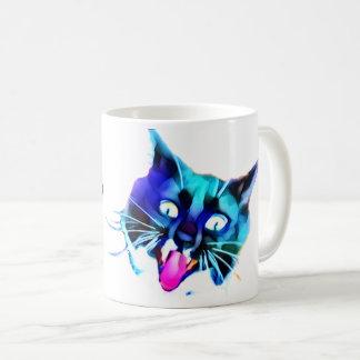 FRAZZ! 熱狂するな猫のマグ コーヒーマグカップ