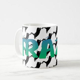 FRAZZ! 黒猫のマグ コーヒーマグカップ