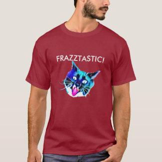 Frazztastic! 猫のTシャツ Tシャツ