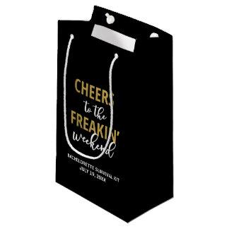 Freakinの週末の存続の用具袋への応援 スモールペーパーバッグ