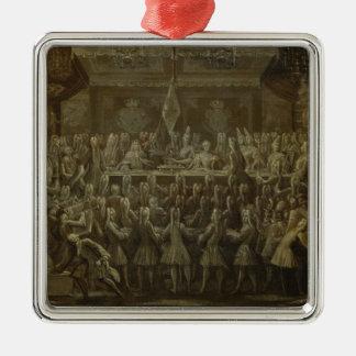 Frederickのためのプロイセンの即位の夕食I 1701年 メタルオーナメント