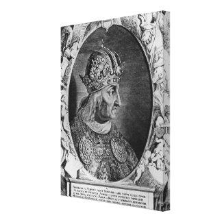 FrederickのポートレートIVの神聖ローマ皇帝 キャンバスプリント