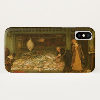 Frederickの歩行者による魚屋の店 iPhone X ケース