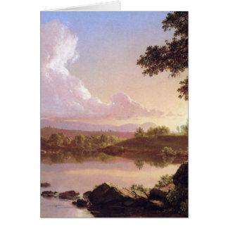 Frederickエドウィン教会によるCatskillの入り江 カード