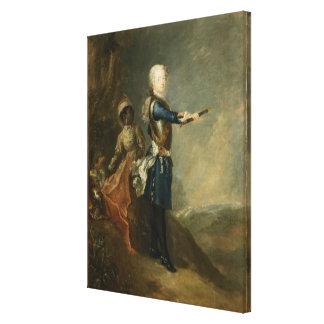 Frederick皇太子としてII、c.1735 キャンバスプリント