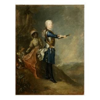 Frederick皇太子としてII、c.1735 ポストカード